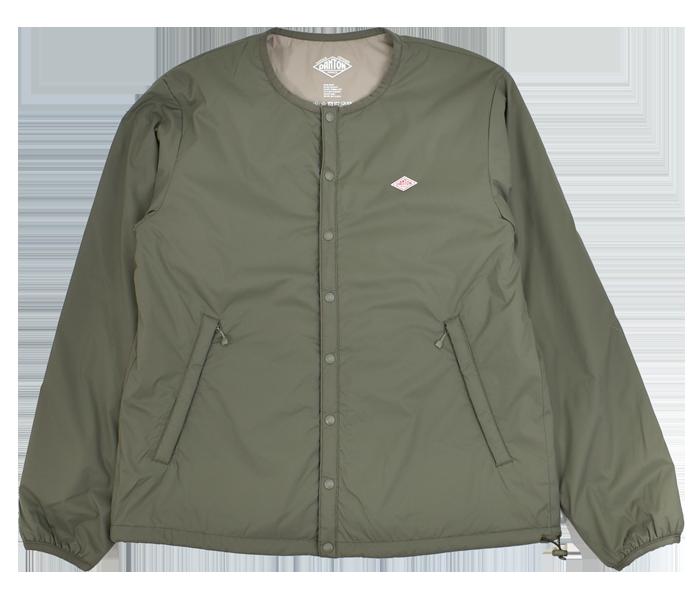 ダントン (DANTON)インサレーションジャケット プリマロフト メンズ JD-8885SBT OLIVE GREEN
