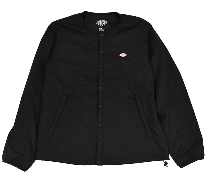 ダントン (DANTON)インサレーションジャケット プリマロフト メンズ JD-8885SBT BLACK