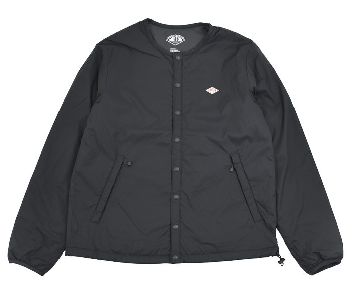 ダントン (DANTON)インサレーションジャケット プリマロフト レディース JD-8878SBT CHARCOAL