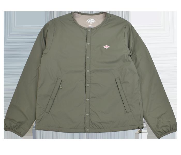 ダントン (DANTON)インサレーションジャケット プリマロフト レディース JD-8878SBT OLIVE GREEN