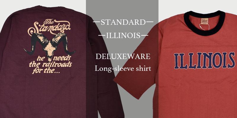 デラックスウエア(DELUXEWARE)2020 Fall/Winter long-sleeve shirt