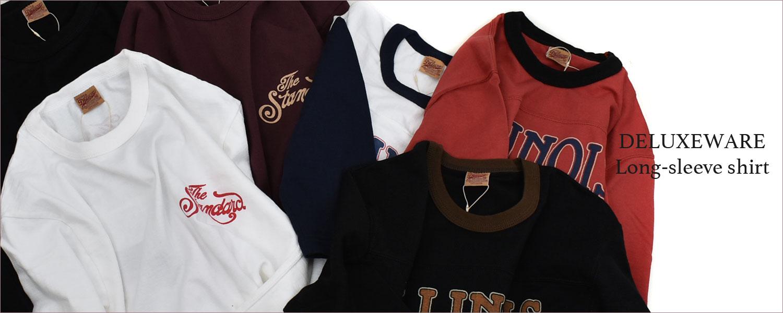 デラックスウエア (DELUXEWARE)2020 Fall/Winter long-sleeve shirt