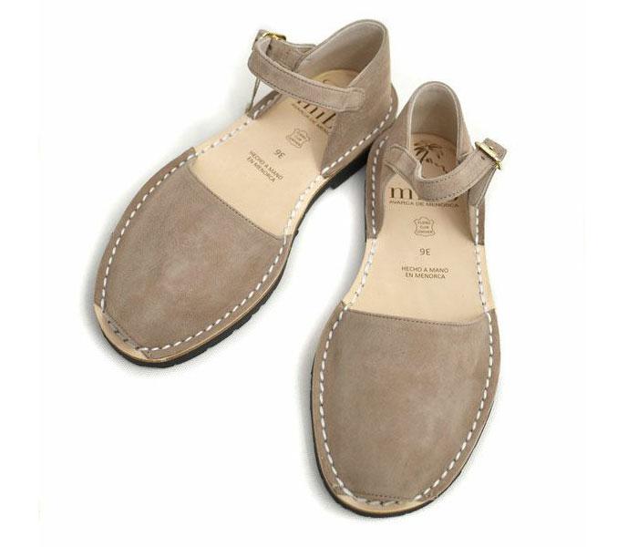 ミボ (mibo) Abarca Sandal with Heel Cup 310 ANTE TOPO