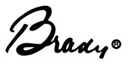 ブレディー(BRADY)ロゴ