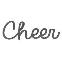 チアー(cheer)ロゴ