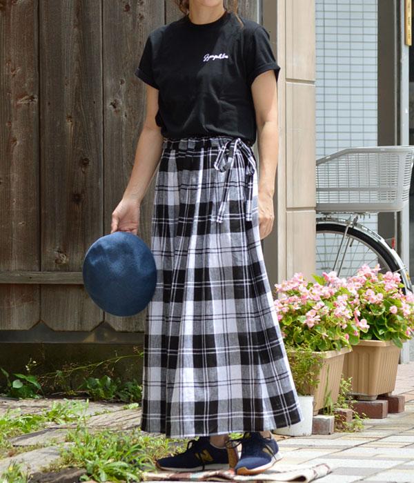ジムフレックス (GYMPHLEX)コットンジャージー 刺繍ロゴ Tシャツ 半袖Tシャツ J-1155CHを使ったレディースコーディネート