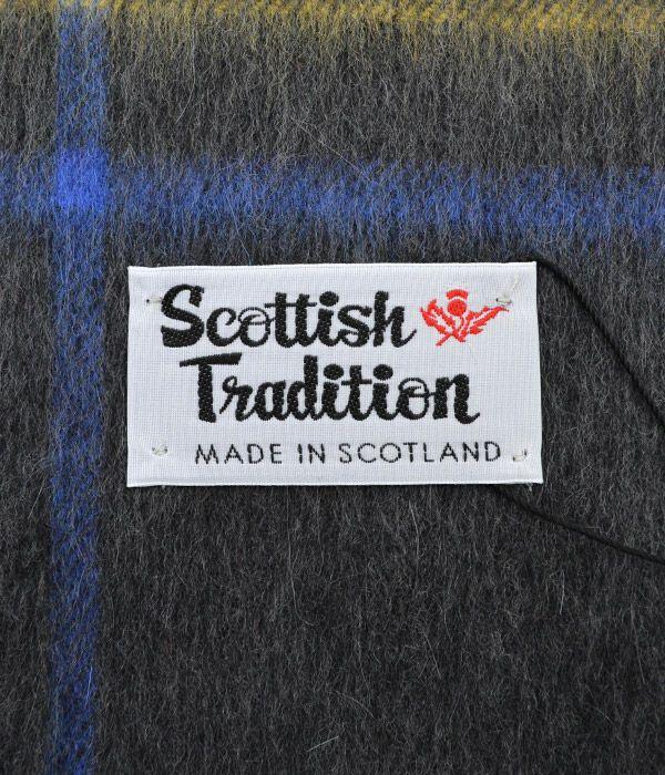 スコティッシュトラディション (SCOTTISH TRADITION) ウーヴェン スカーフマフラー WOVEN SCARF