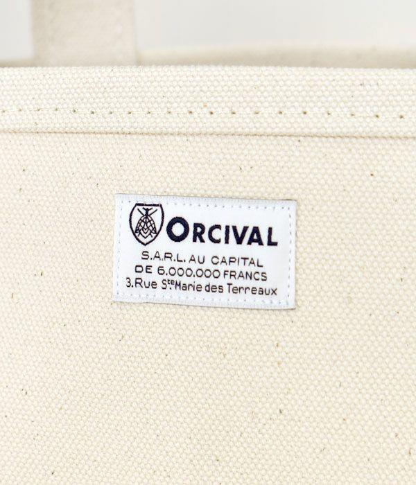 オーチバル/オーシバル (ORCIVAL) キャンバストートバッグS RC-7060HVC