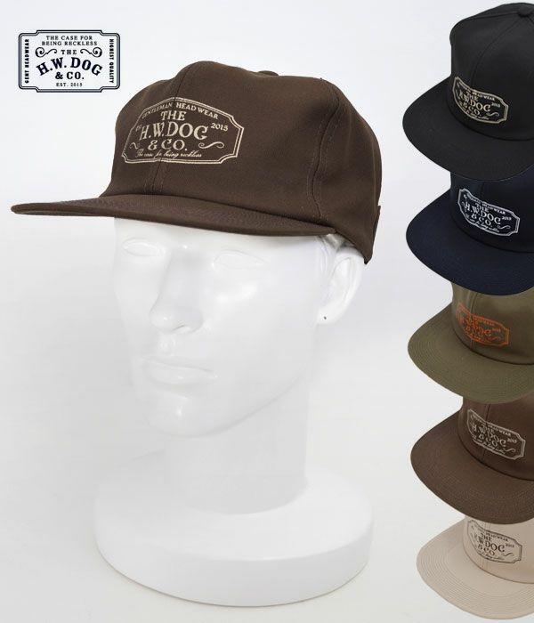 THE H.W.DOG&CO.(ザ エイチ ダブリュー ドッグ アンド カンパニー)トラッカー キャップ 帽子D-00004