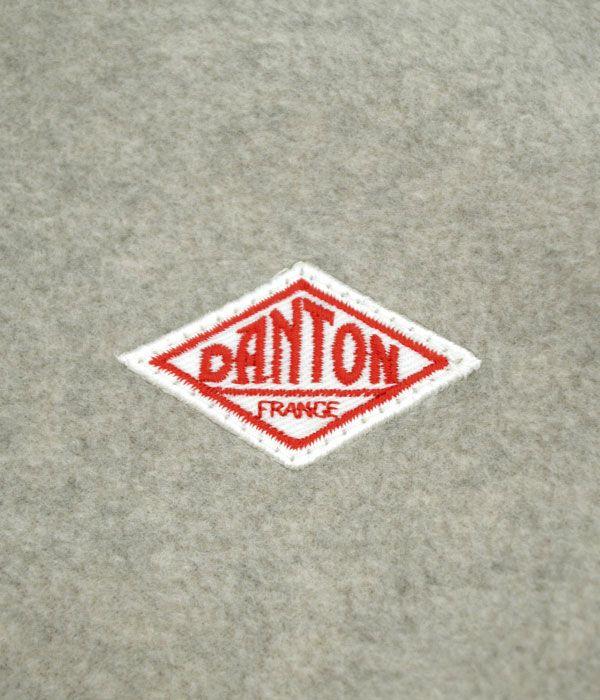 ダントン(DANTON) ノーカラー フリースジャケット JD-8911