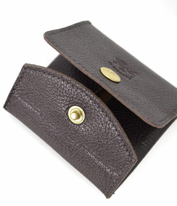 イルビゾンテ (IL BISONTE) スクエアレザーコインケース 財布 ウォレット 5412300241