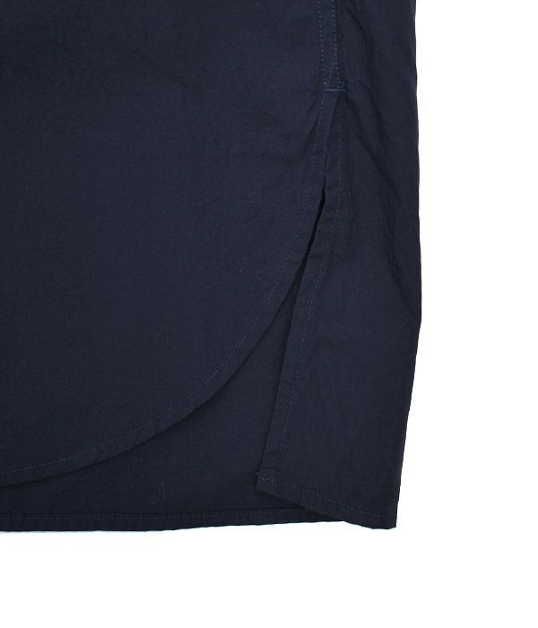ダントン (DANTON) レギュラーカラーシャツワンピース JD-3655MSA