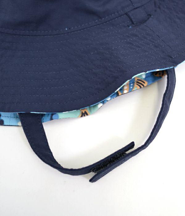 パタゴニア (PATAGONIA) ベビー サンバケツハット 子ども・キッズ・帽子・リバーシブル 66076