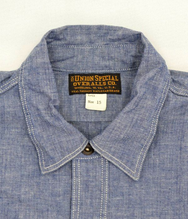 フリーホイーラーズ (FREEWHEELERS) NEAL ニールシャツ 長袖ワークシャツ シャンブレーシャツ 1913001