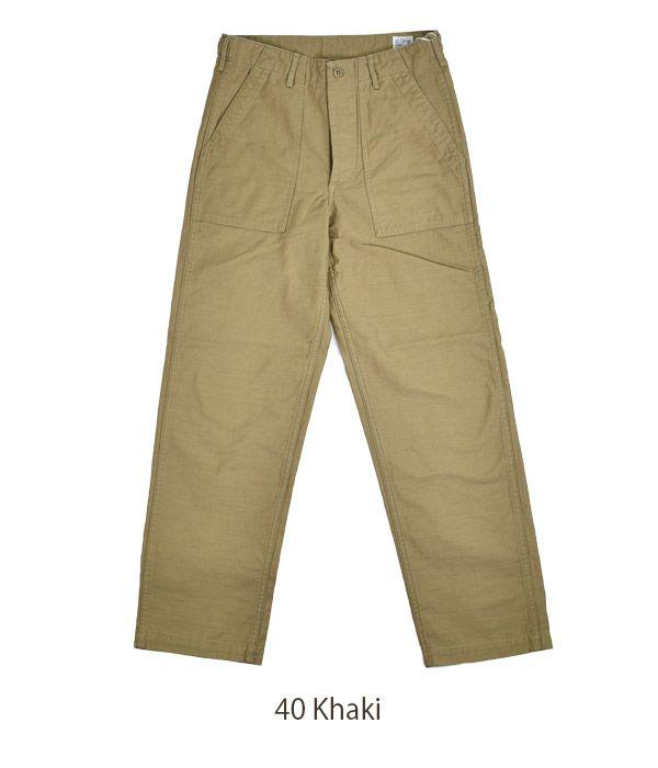 オアスロウ (orSlow) US ARMY FATIGUE PANTS *Button Fly 01-5002