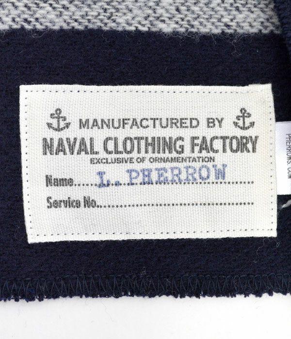 フェローズ (PHERROW'S) U.S.NAVY ウールブランケット マフラー USN-BM