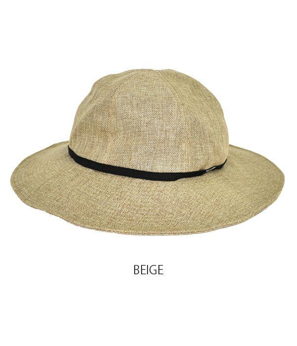 オーチバル/オーシバル (ORCIVAL) ラフィア風 ハット 細リボン 帽子 RC-7229RLP