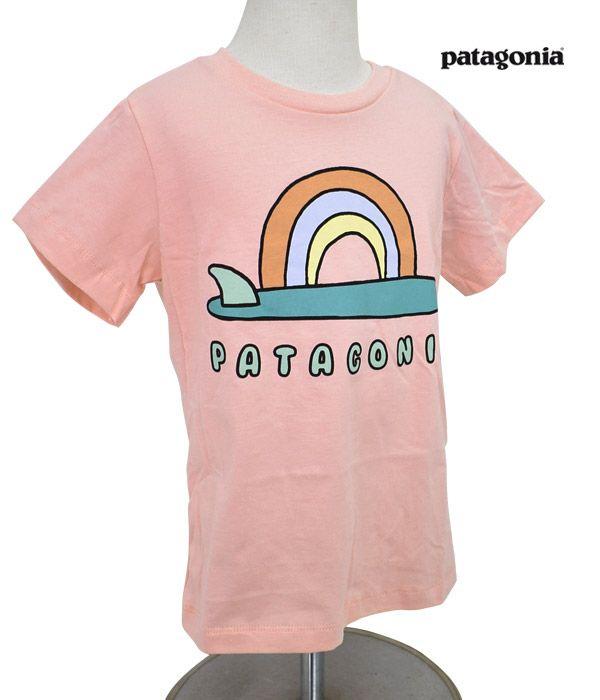 パタゴニア (PATAGONIA)ベビー グラフィック オーガニックTシャツ 半袖プリントTシャツ キッズ 子ども 60386