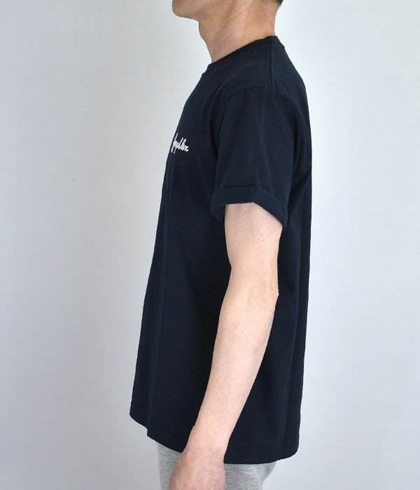 ジムフレックス (GYMPHLEX)コットンジャージー 刺繍ロゴ Tシャツ 半袖Tシャツ J-1155CH
