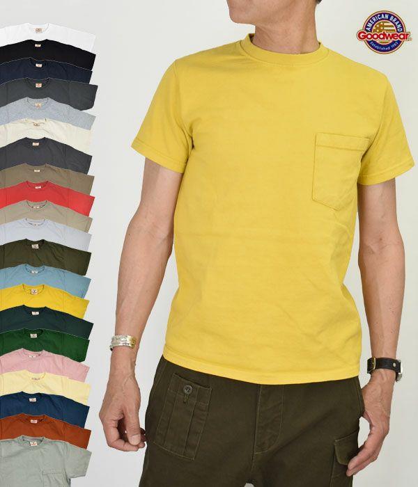 グッドウェア(GOODWEAR)S/S POCKET TEE 半袖ポケットTシャツ GW040066