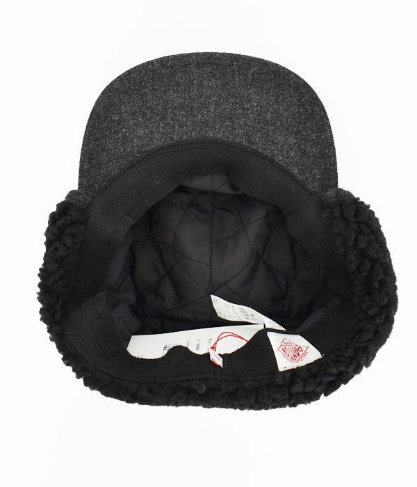 ダントン(DANTON) ボア付きキャップ 帽子 JD-7284EKE
