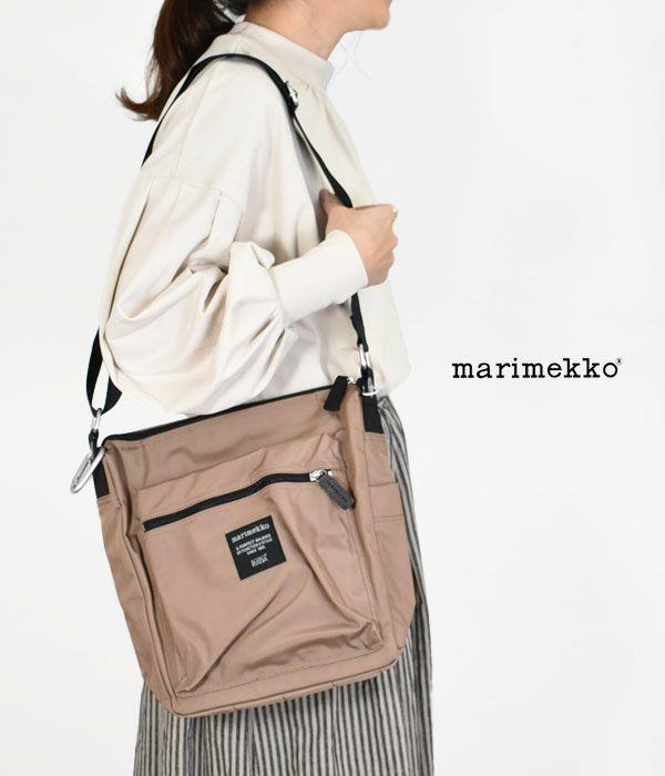 マリメッコ (marimekko)PAL ナイロンショルダーバッグ 52213-2-49505