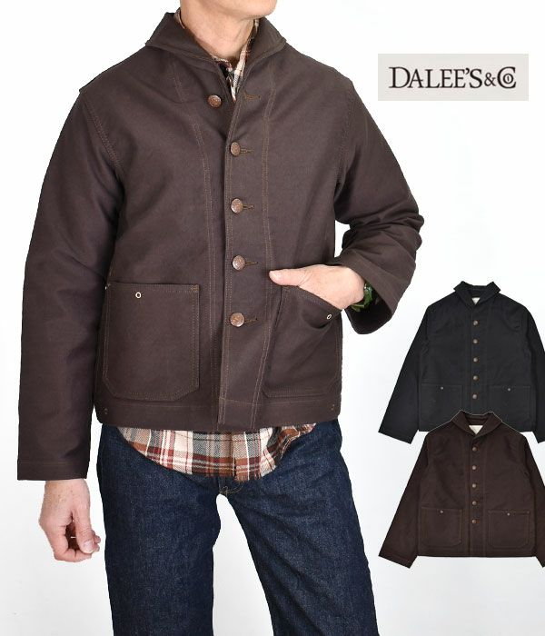 ダリーズ (DALEE'S&Co) U.S.N.J.05 40s U.S.N KOVERALL セーラージャケット カバーオール コート
