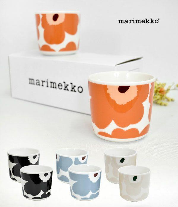マリメッコ(marimekko)UNIKKO コーヒーカップセット(ハンドルなし) 52219-4-70637