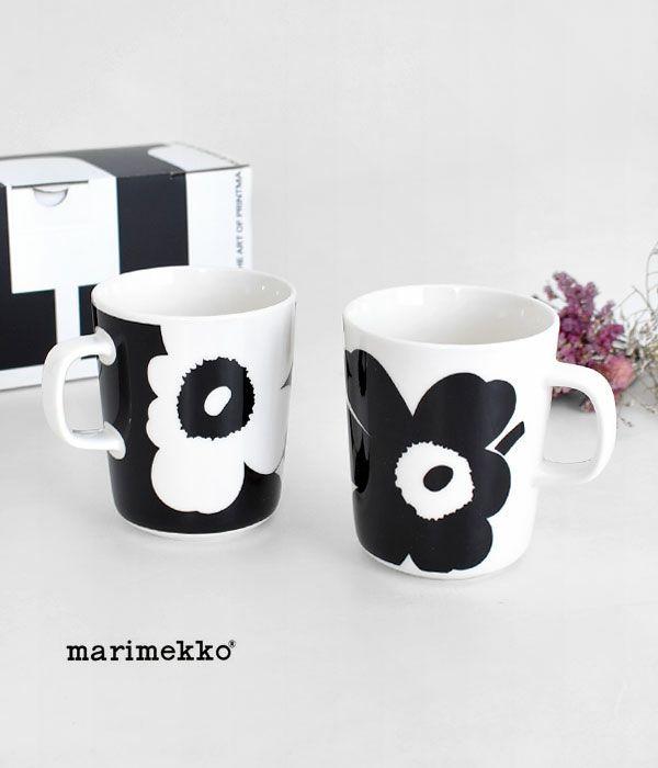 マリメッコ(marimekko)OIVA / JUHLA UNIKKO マグカップセット 2.5DL 70周年アニバーサリーコレクション 52219-4-71003