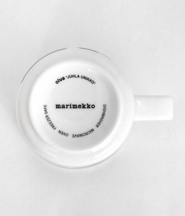 マリメッコ (marimekko) OIVA / JUHLA UNIKKO マグカップセット 2.5DL 70周年アニバーサリーコレクション ウニッコ 食器 2個セット 限定ギフトボックス 52219-4-71003
