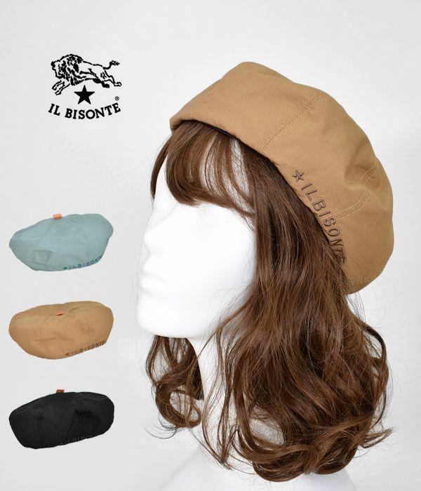 イルビゾンテ(IL BISONTE)コットン ベレー帽 54212-3-04383