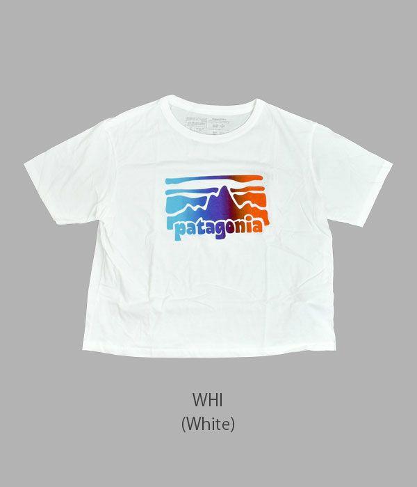 パタゴニア (PATAGONIA) Boy's P-6 Logo Organic T-shirt ボーイズ P-6 ロゴ オーガニックTシャツ レディース半袖プリントTシャツ 62153