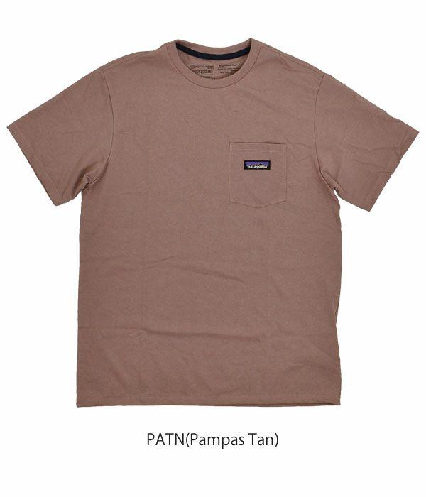 パタゴニア (PATAGONIA) メンズ P-6 ラベル ポケット レスポンシビリティー 半袖ポケット付Tシャツ ポケT 37406