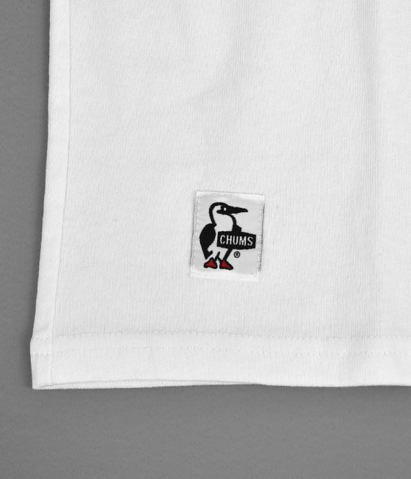 チャムス (CHUMS) Camp With Your CHUMS T-shirt 半袖プリントTシャツ CH01-1708