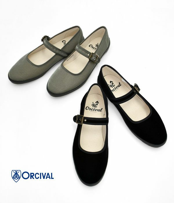 オーチバル/オーシバル RBL STRAP SHOES 靴 ストラップシューズ  ベロア ベルベット OR-H0036RBL